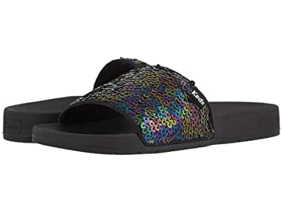 Keds Bliss II Jelly Sequin (Black) Women