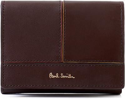 名入れ可 (ポールスミス) Paul Smith 正規品 財布 ミニ財布 3つ折り財布 小銭入れあり ブライトストライプ ミニウォレット コンパクト 873731 P132