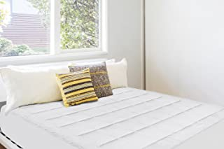 Dormire Overfilled King Sized Mattress Pad - Ultra Soft Micro Plush with Fleece