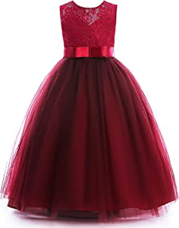 burgundy lace ball gown