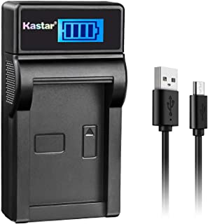 Kastar Slim LCD Charger for Panasonic DMW-BCJ13, DMW-BCJ13E, DMW-BCJ13PP, Leica BP-DC10, BP-DC10-E, BP-DC10-U & Panasonic Lumix DMC-LX5 DMC-LX55 DMC-LX5K DMC-LX5W DMC-LX7 and Leica D-Lux 5, D-Lux 6