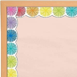 Fun Express - Sgs Hello Sunshine Poms Bb Borders - Educational - Classroom Decorations - Bulletin Board Decor - 13 Pieces