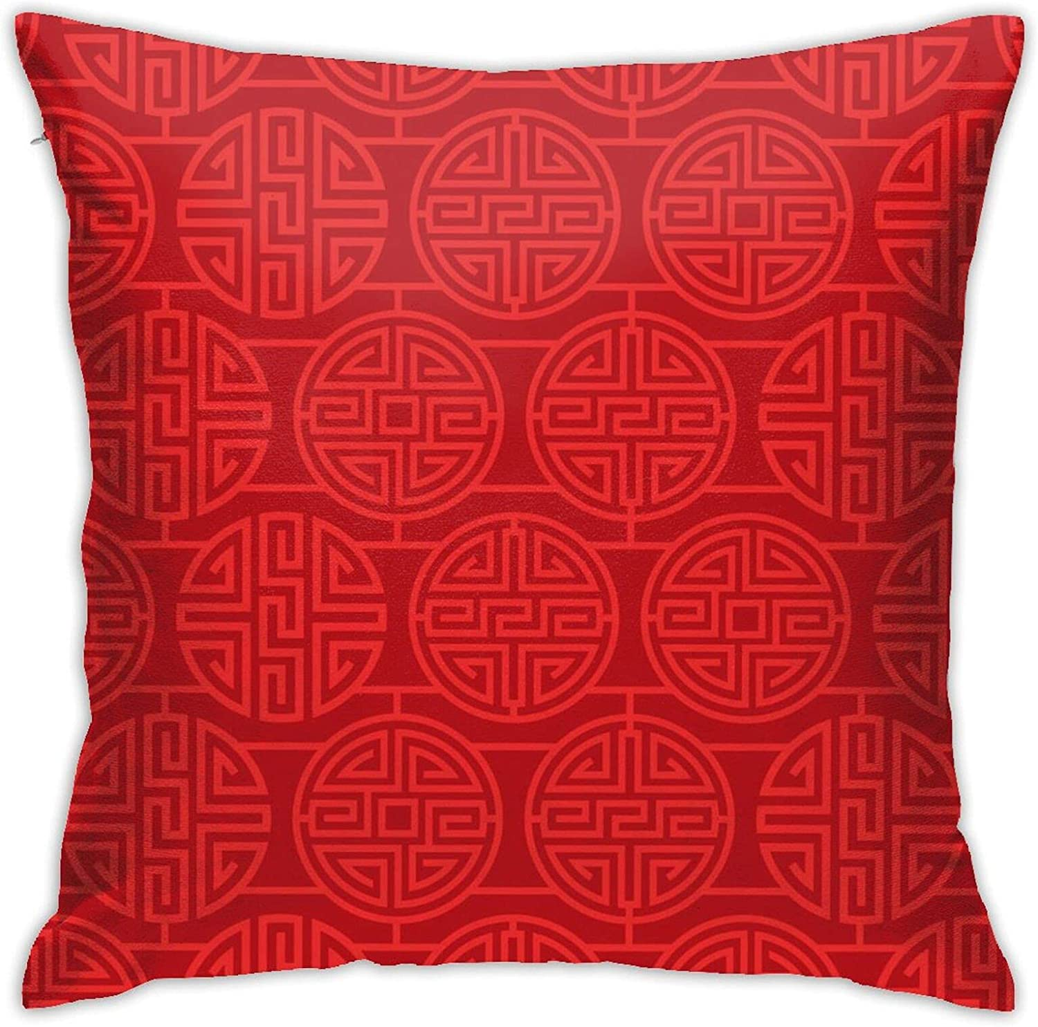 We OFFer at cheap prices Red Retro Pattern 18 X Inches Bed Couch Pillo Design Cute and Year-end gift