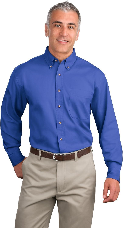 Port Authority Men's Long Sleeve Twill Shirt