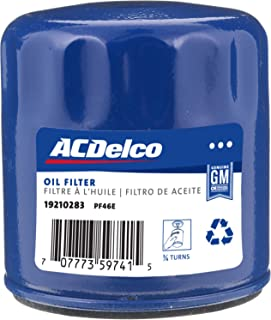 ACDelco GM Original Equipment PF46E Engine Oil Filter