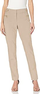 Women's Straight Pants (Regular and Plus Sizes)