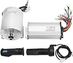Mophorn 1800W Electric Brushless DC Motor Kit - 48V 5200rpm Brushless Motor with 32A Speed Controller and Throttle Grip Ki...