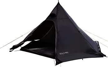 Canadian East(カナディアンイースト) ワンポールテント 黒ピルツ Pilz7 BLACK ピルツ7 ブラック [ 2~3人用] 【 小川キャンパル コラボモデル 】 CETO1001