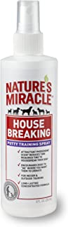 United Pet Group Nature's Miracle House-Breaking Potty Training Spray