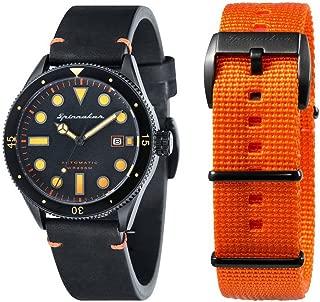 Mens Cahill Vintage Diver Watch - Black