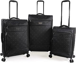 Original Penguin Original 3pc Expandable Suitcase Set with Spinner Wheels, Mini Pete, One Size