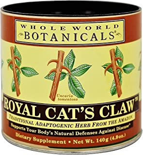 Whole World Botanicals -Royal's Cat's Claw Tea - 4.9 ounce (140 gram)