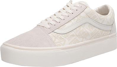 Vans - Old Skool Platform - VN0A3B3UXA0 - Color: White-Beige ...