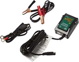 Battery Tender Junior 8V, 1.25A Battery Charger and Maintainer: Fully Automatic 8V Automotive Battery Charger for Cars, Motorcycle, ATVs, and More - SuperSmart Battery Chargers - 022-0197