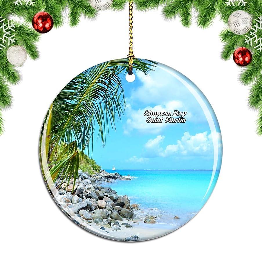 ベルベット分類ペチュランスWeekinoシンプソンベイサンマルタン - 副本.pngクリスマスデコレーションオーナメントクリスマスツリーペンダントデコレーションシティトラベルお土産コレクション磁器2.85インチ