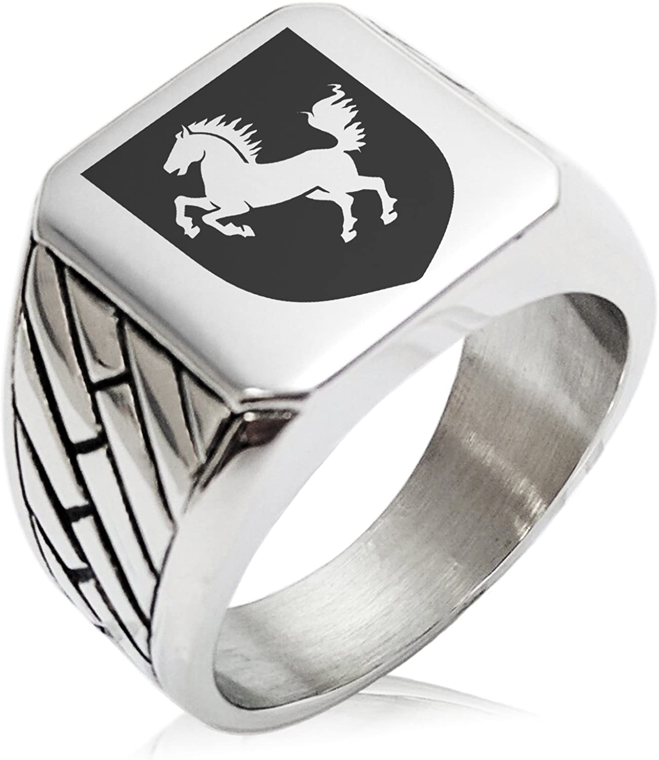 Tioneer Attention brand Stainless Steel Horse Battle Max 47% OFF Coat Shield Geometr of Arms