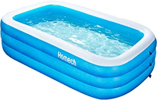 Homech Inflatable Swimming Pools, Inflatable Kiddie Pools, Family Swimming Pool, Swim Center for Kids, Adults, Babies, Tod...