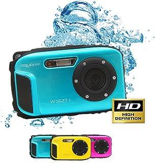 Aquapix Ocean onderwater-digitale camera met Li-ion-accu, ijsblauw