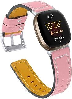 Dalin - Cinturino di ricambio in pelle per Fitbit Versa 3/Sense
