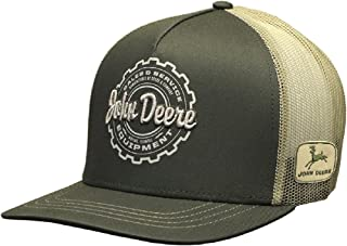 John Deere Brand Sales and Service Equipment Snapback Hat