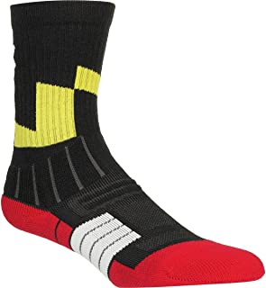Under Armour Unrivaled Coat of Arms Crew Sock - Boys' Black, L