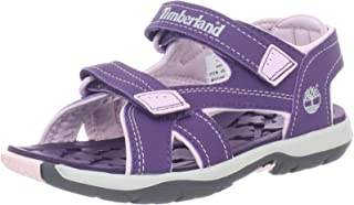 Timberland Children's Mad River 2-Strap Sandal,Purple/Lilac Synthetic,US 13.5 M