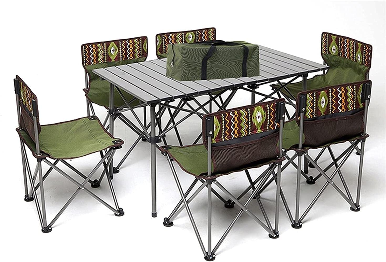 Xkun High material Camping Table and Chair Large Safety and trust Garden Outdoor Folding