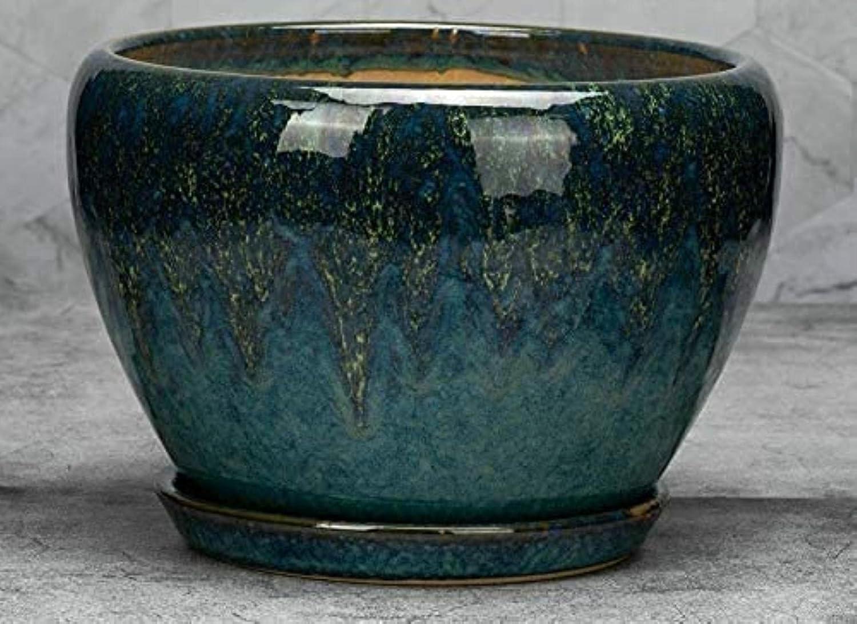 YINGJIA Surprise price Ceramic Max 74% OFF Flower Pot Tiger Balcony Flowerpot Piran Special
