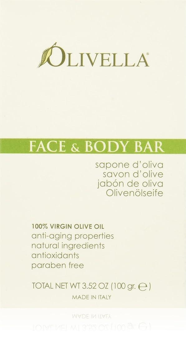 平和な印象貸し手Face and Body Bar - 3.52 oz by Olivella