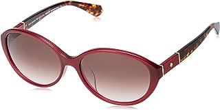 Kate Spade Women's Catrine/F/S YDC Burg Havn S 58 Lens HA BROWN SF Sunglasses