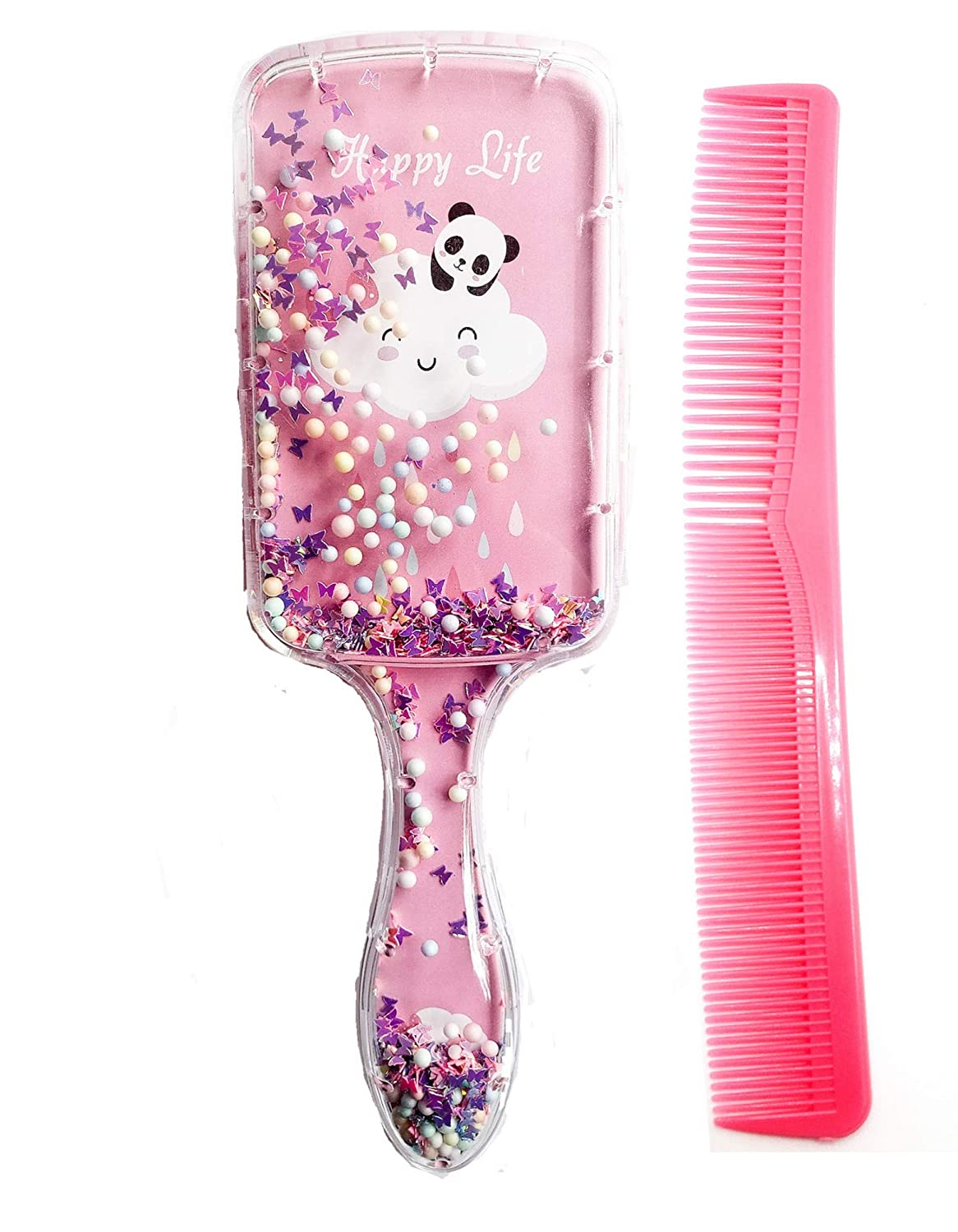 Weekly update RayBella Glitter Hair Brush and Today's only Detangling Bru Paddle Comb