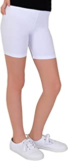 Stretch is Comfort Girl's Cotton Bike Shorts