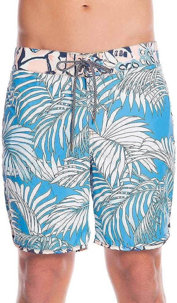 Maaji Men's Standard Fixed Waist Long Length Boardshort Swimsuit Trunks 9