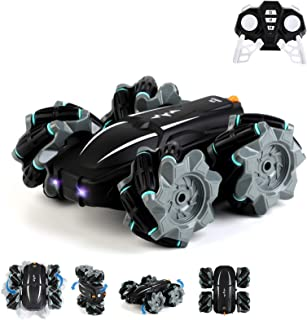 Remote Control Car, RC Stunt Car for Kids Outgeek 2.4Ghz 360°High-Speed Rotation Double Sided Drift in All Direction Dual-...