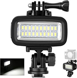 Neewer 700LM Flash LED Regulable Impermeable 40m Bajo el Agu