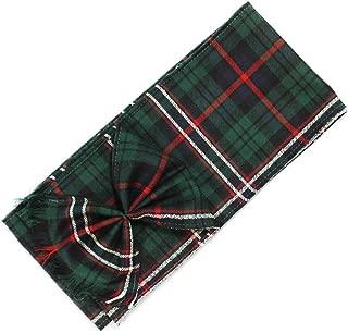 BBI Scottish 100% Wool Tartan Ladies Mini Sash with Rosette - Scottish National