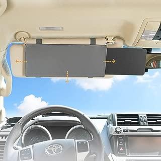 Universal for Cars Anti-Glare Car Sun Visor Protects from Sun Glare,UV Rays SUVs SAILEAD Polarized Sun Visor Sunshade Extender for Car with Polycarbonate Lens