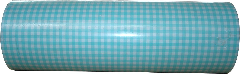 Geschenkpapier Vichy Muster Hellblau Rolle 250m x 50cm B01G1RRTZO B01G1RRTZO B01G1RRTZO | Moderater Preis  aecf45