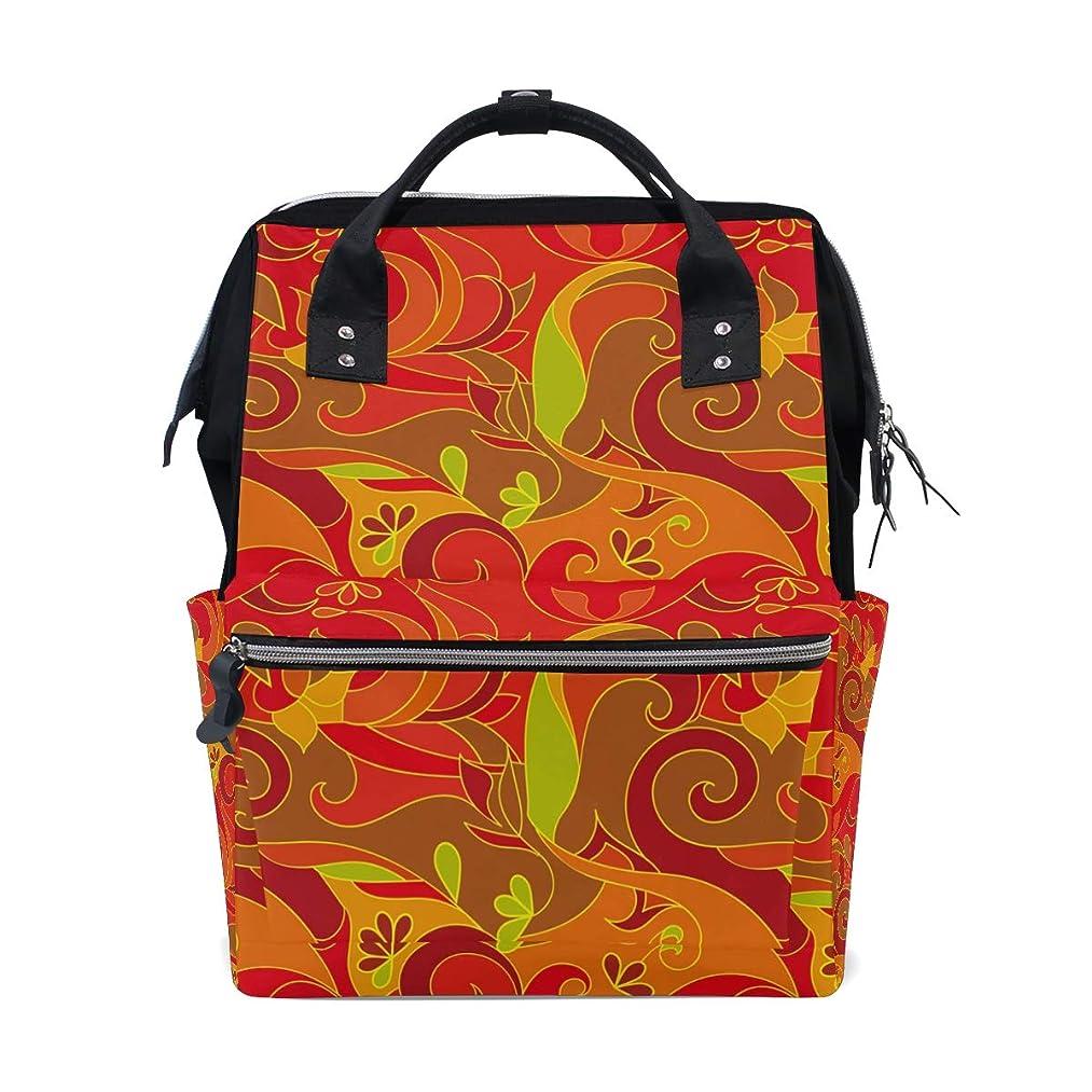 Red Abstract Pattern School Backpack Large Capacity Mummy Bags Laptop Handbag Casual Travel Rucksack Satchel For Women Men Adult Teen Children