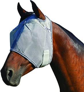 Cashel Crusader Horse Fly Mask, Standard, Draft, Grey
