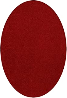 Best oval red rug Reviews