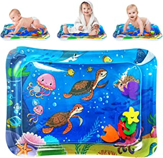 QUN FENG Inflatable Tummy Time Premium Water mat Infants & Toddlers Perfect Fun Time for Baby Stimulation Growth Infant Ac...