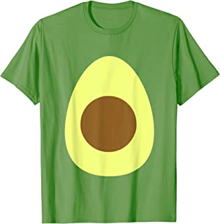 Avocado Funny Fruit Food Halloween Costume T-Shirt