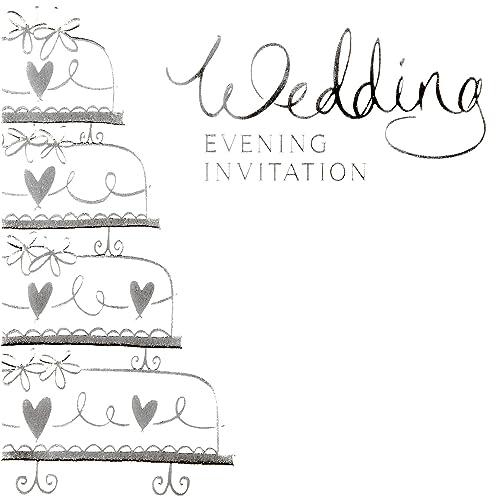 Evening Wedding Reception Invites Amazon