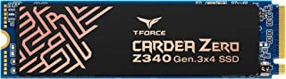 TEAMGROUP T-Force Cardea Zero Z340 1TB NVMe PCIe Gen3 x4 M.2 2280 Solid State Drive SSD with Graphene Copper Foil TM8FP900...