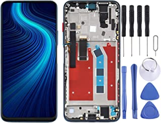 SHUHAN LCD Screen Phone Repair Part LCD Screen and Digitizer Full Assembly With Frame for Huawei Honor X10 5G Mobile Phone...
