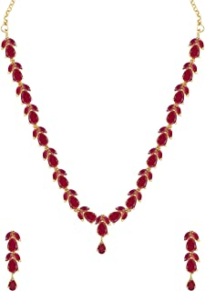 64a1c75ad6 Pink Women's Jewellery Sets: Buy Pink Women's Jewellery Sets online ...