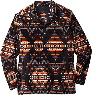 Boulder Creek Men's Big & Tall Explorer Fleece Quarter Snap Jacket