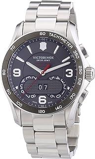 Victorinox Swiss Army - Chrono Classic - Reloj de Cuarzo para Hombre, con Correa de Acero Inoxidable, Color Plateado