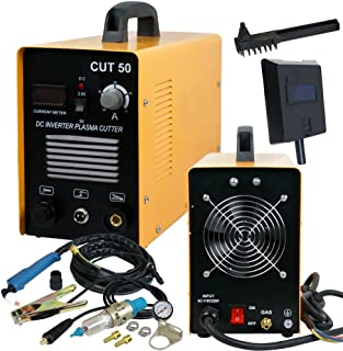 SUPER DEAL DC Inverter Plasma Cutter Welding Machine With Screen Display Dual Voltage..
